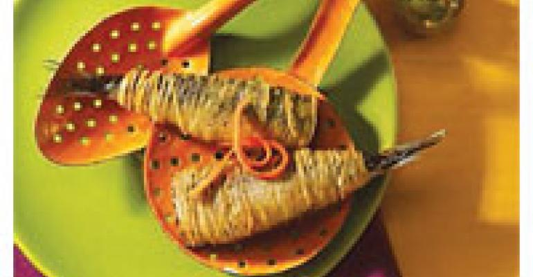 Crispy Idaho Potato-Wrapped Sardines