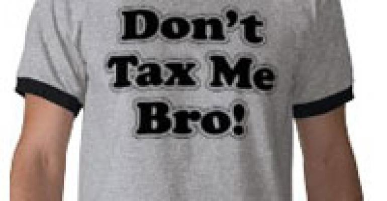 The Taxman Takes Aim At Restaurants