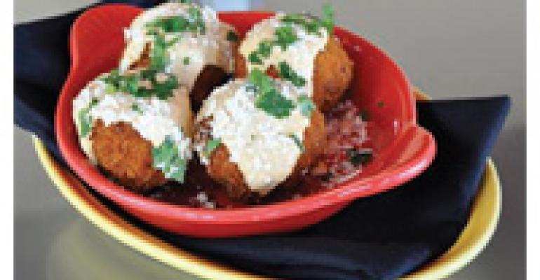 Chorizo Potato Croquettes