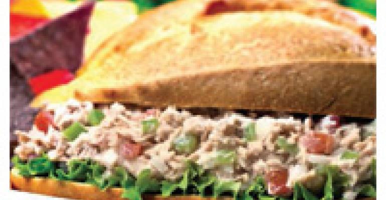 Latin Limed Tuna Salad