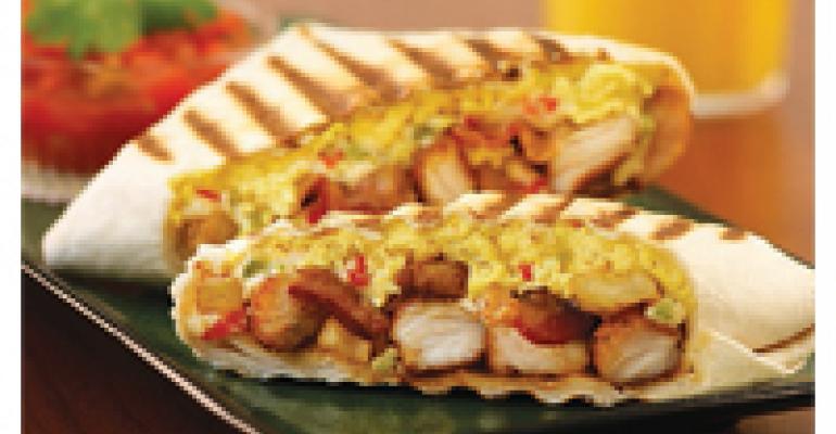 Santa Fe Chicken Breakfast Burrito