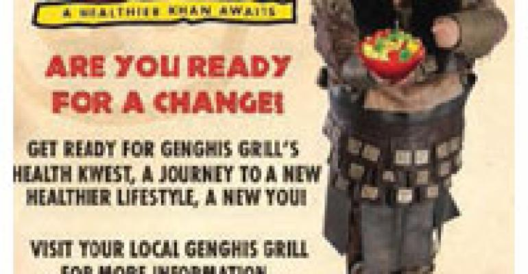 As Customers Lose, Genghis Grill Wins