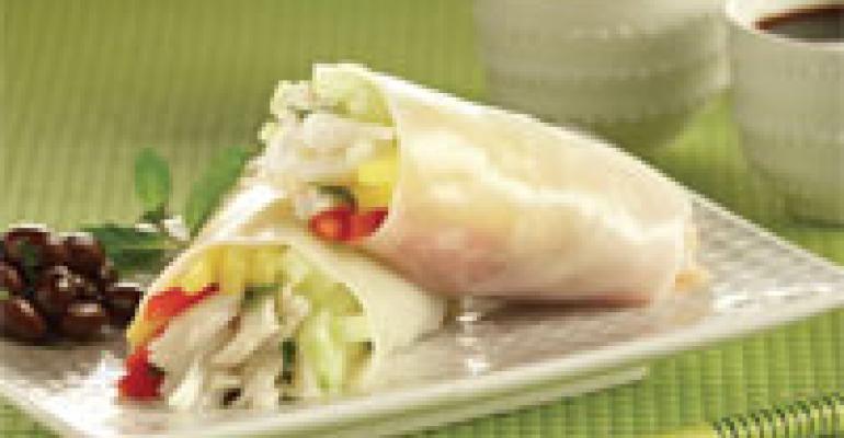 Crab and Mango Roll