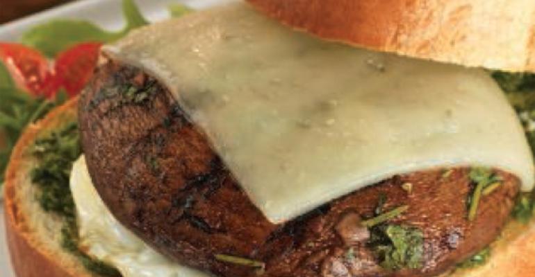 Grilled Portabella Breakfast Sandwich