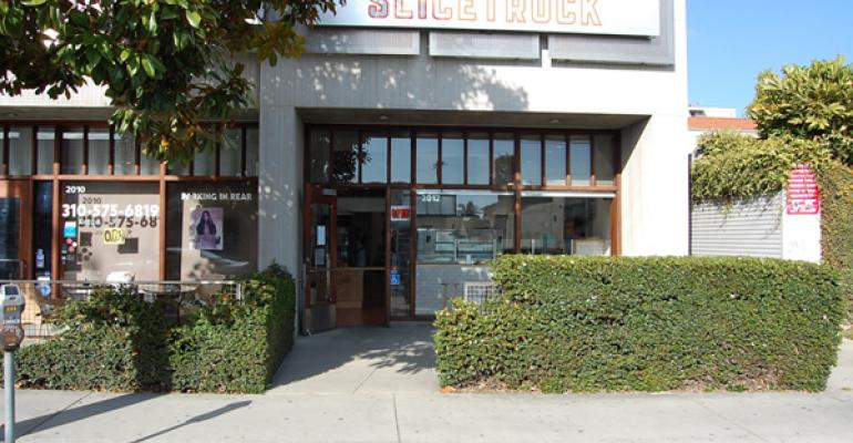SliceTruck39s first brickandmortar store sits on a sweet spot in West LA