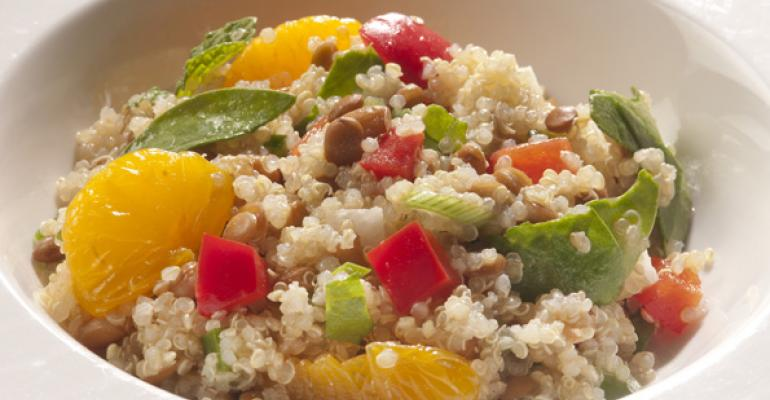 Grain side dishes round out a healthy barbecue menu