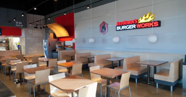 Red Robin flies into fast casual