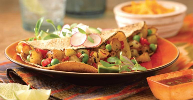 TACO TIME New takes on tacos include Lucha Libre Idaho Tater Tacos
