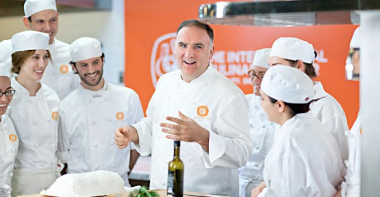The program at the International Culinary Center offers access to one of the countryrsquos greatest chefs at the height of his culinary powers