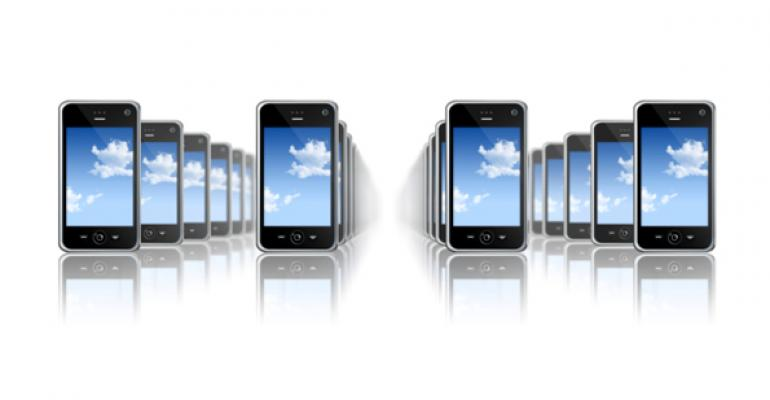 How customers use mobile devices