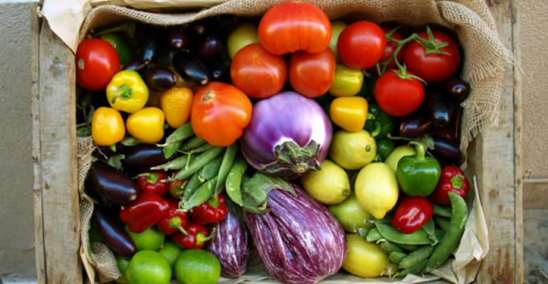 Locally grown produce will be popular on menus next year according to the National Restaurant Association