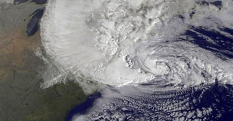 Superstorm Sandy struck the East Coast in October