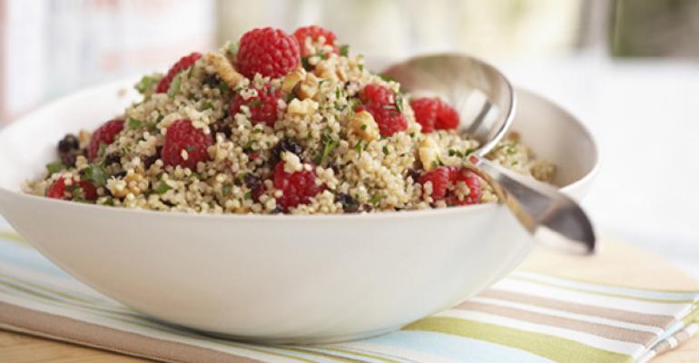 Quinoa salad ideas for Lenten menus