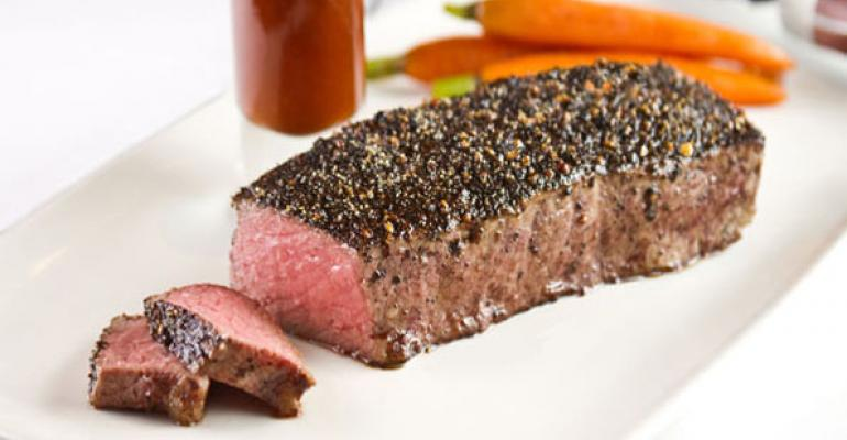 Beef, brown spirits beat out latest trends