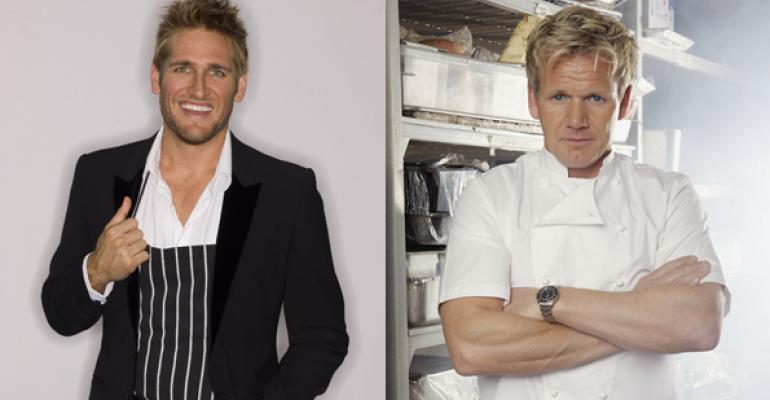 Chefs Curtis Stone left and Gordon Ramsay right are part of the trend