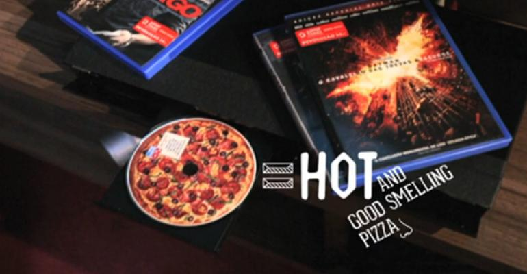 3D pepperoni: High tech invades the pizza segment