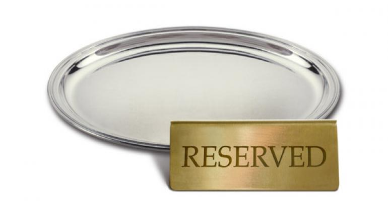 Chew on this: The changing code of restaurant reservations