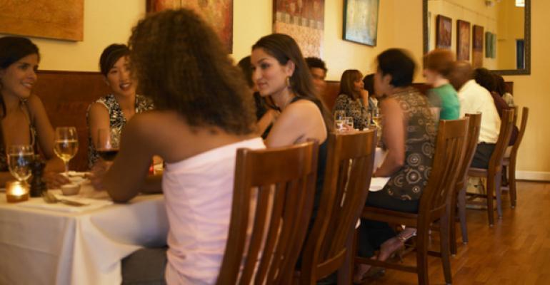 Customers rekindle love of full-service restaurants