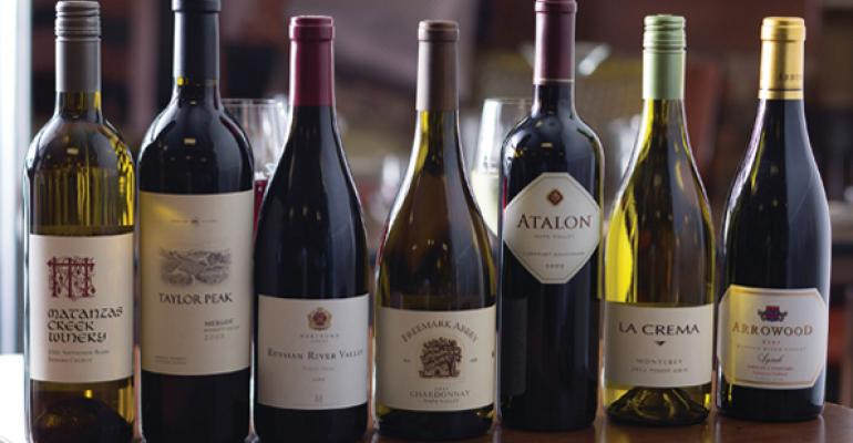 Capital Grillersquos Generous Pour promotion gives customers the choice of seven excellent wines priced at just 25 per bottle