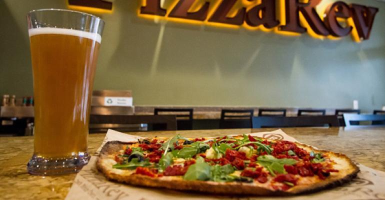 PizzaRev serves a quotRomanquotstyle ultrathincrust pie