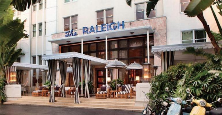 As soon as hotel operator SBE completed its December purchase of iconic South Beach hotel The Raleigh a toptobottom restoration got underway