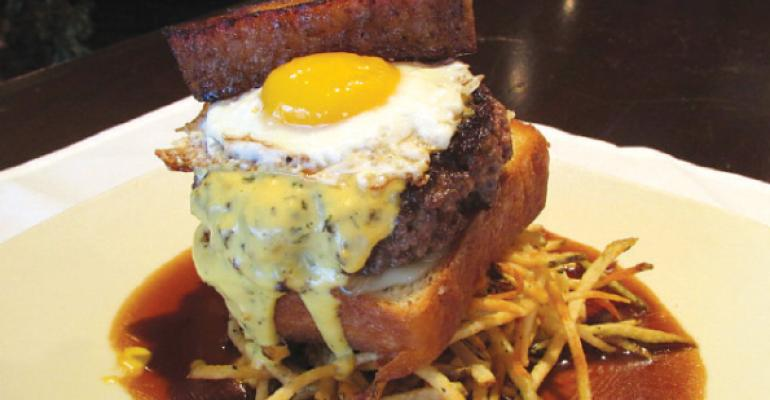 Kahillrsquos SteakFish Chophouse39s FarmtoTable Wagyu Burger was named one of RH39s Best Sandwiches in America