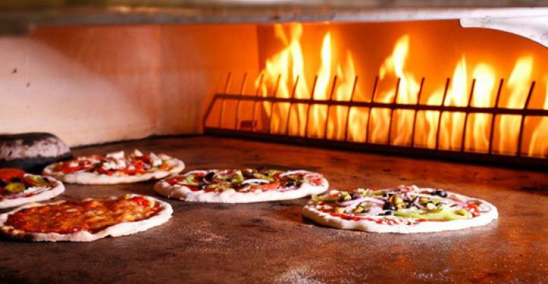 Your Pie39s pizzas cook in three minutes in a stonehearth oven