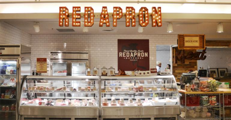 Next up Red Apron