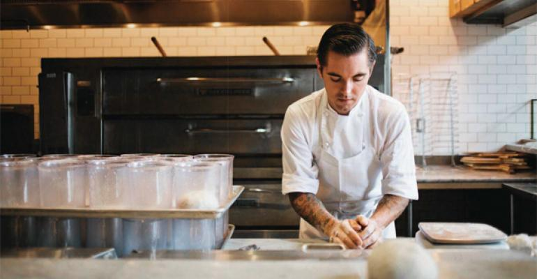 Jeff Mahin drew on lessons learned in the food lab at Englandrsquos The Fat Duck while developing the perfect pizza dough for Stella Barra After 30 iterations he came up with a recipe that produces a crust that manages to be airy crispy and chewy all at once