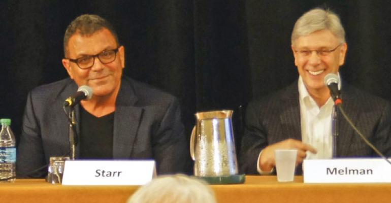 Stephen Starr left has revitalized Philadelphia39s culinary scene Richard Melman is founder and chairman of Lettuce Entertain You Enterprises