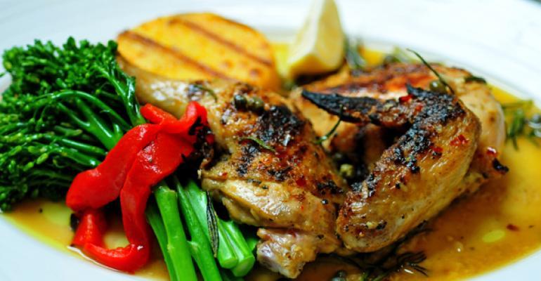 Brick Grilled Chicken