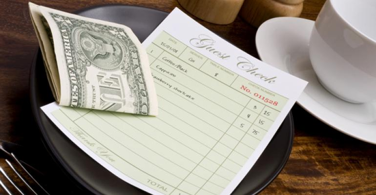 Can receipts correct bad eating habits?