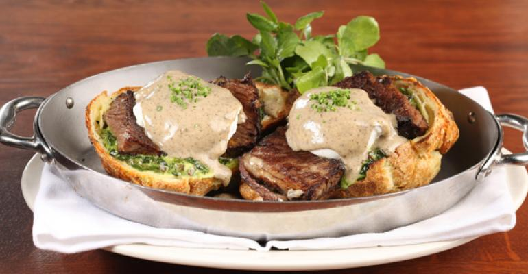 Poached Egg and Short Rib Popover