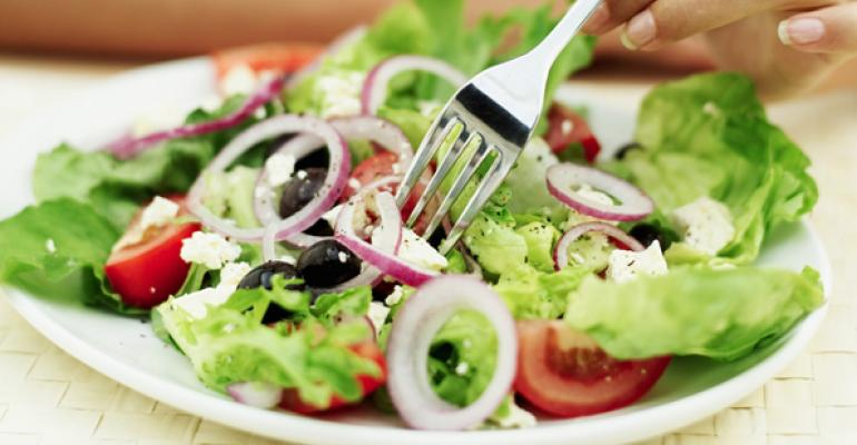 Healthful dining: Proceed with caution