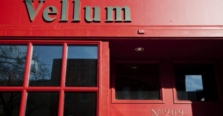 Peter Roumanis left Manhattan and returned home to Ann Arbor to open Vellum The historic building once housed a printing press hence the name Vellum a word for parchment paper