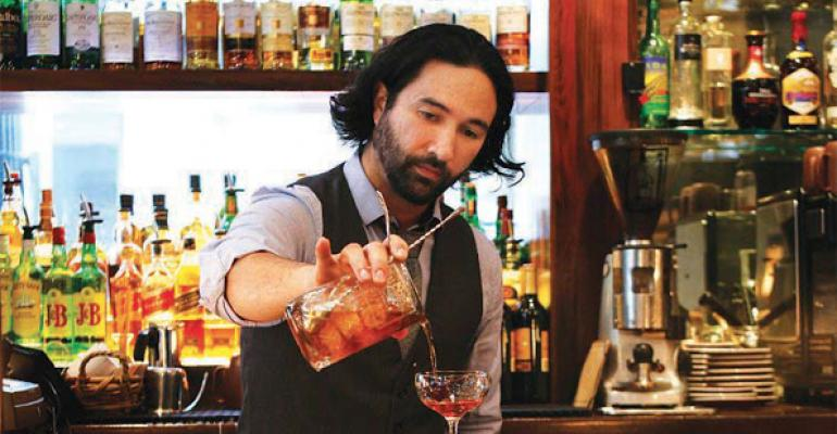 Brandon Lockman: A bar star at Red Star