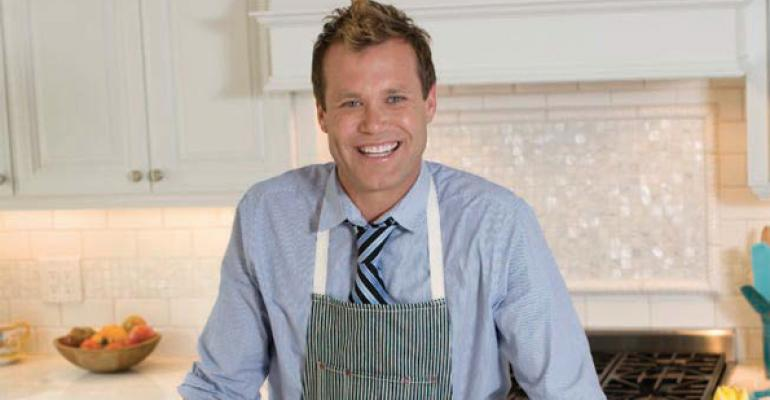 Brian Malarkey talks quirky cooking style