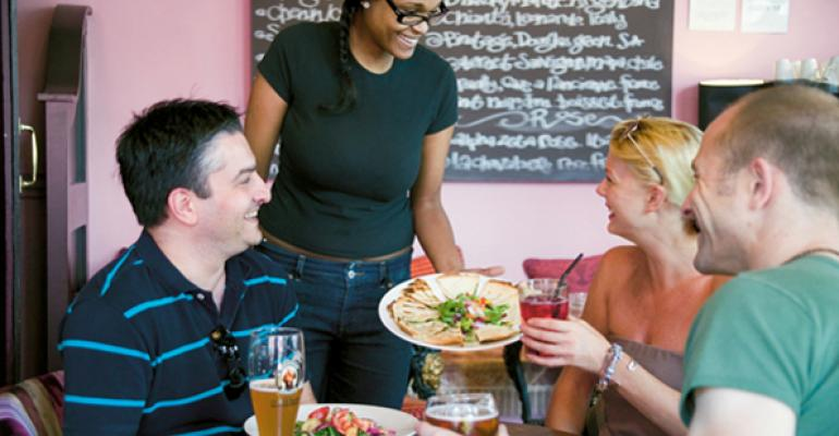 Consumers seek out socially responsible restaurants