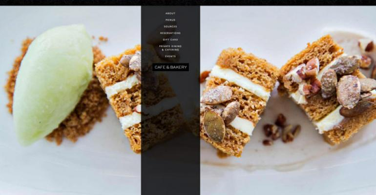 Younts Design created a custom website for Towson MD restaurant Cunningham39s