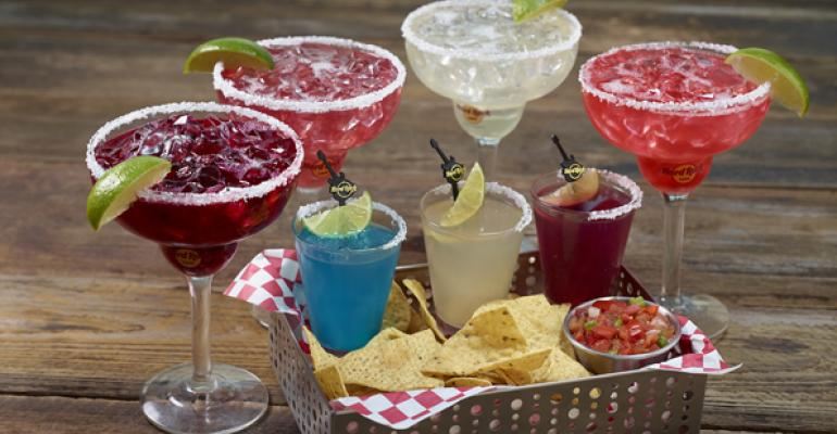 Hard Rock Cafe39s Air Mexico Flight margaritas are available in six flavors
