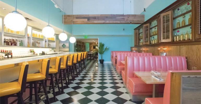 You wonrsquot likely find another diner in Philly with a Caribbean color palette like Rosa Blanca