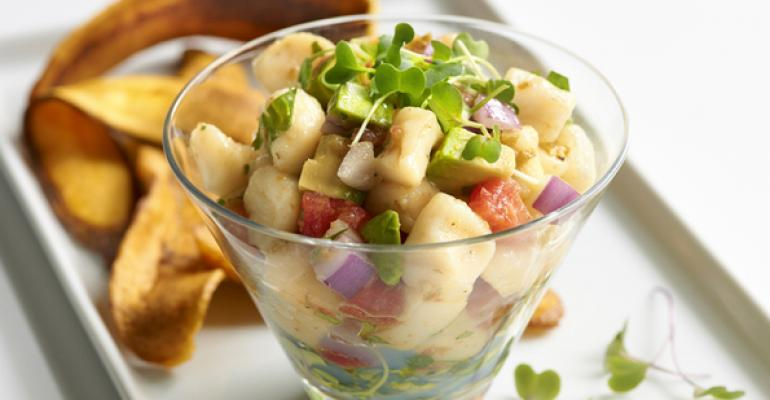 Scallop and Jalapeno Ceviche