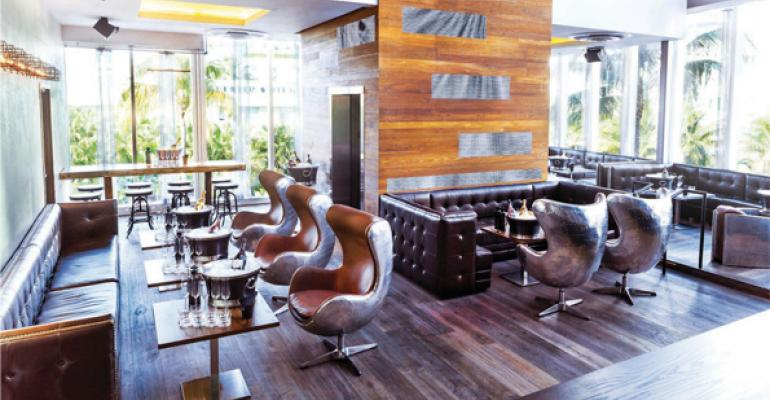 1826 Restaurant amp Lounge has plenty of flash to spare but without chef Danny Grant in the kitchen it would be just another Miami Beach pretty face