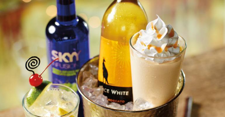 Trend blending: Red Robin's wine milkshakes
