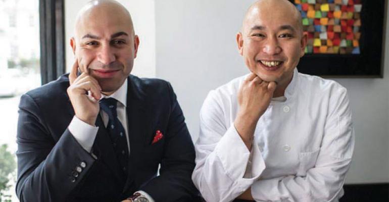 Alex Borgognone brings sushi star to New York