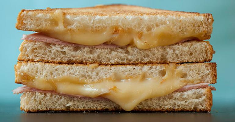La Maison du Croque Monsieur expands on the classic sandwich adding unique cheeses and toppings