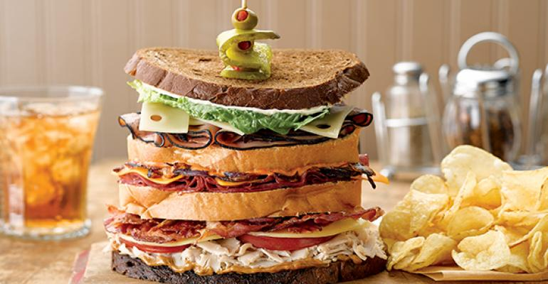 Hellmanns Dagwood Sandwich