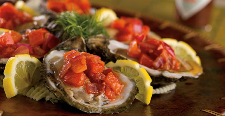 Barbecue Chipotle Oysters
