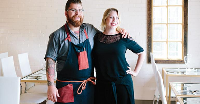 Jonathon and Amelia Sawyer have added a new jewel to their growing restaurant empire with the addition of Trentina