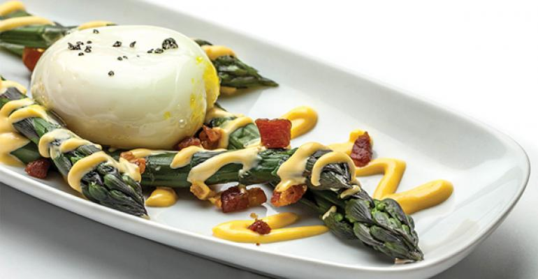 Extra-Virgin Canola Poached Egg